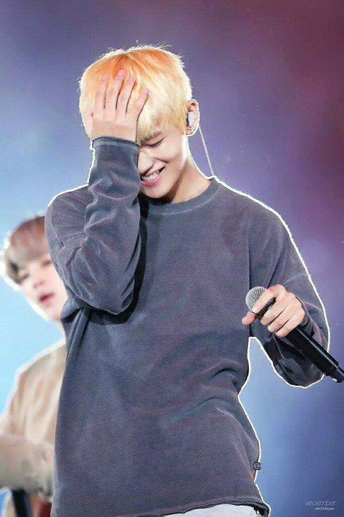 Kim Taehyung on stage | ARMY's Amino