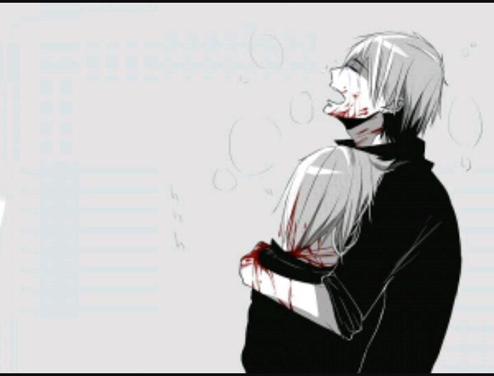 картинки боль аниме