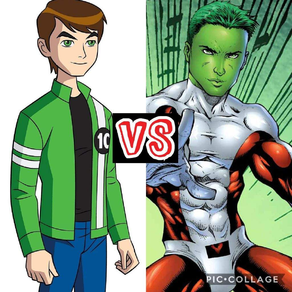 Beast Boy Vs Ben 10 Comics Amino