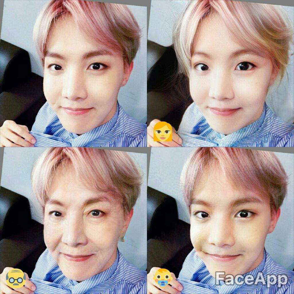 🙊BTS in Faceapp🙊 | ARMY's Amino