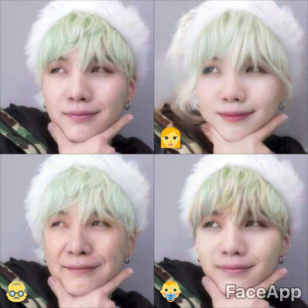 🙊BTS in Faceapp🙊   ARMY's Amino