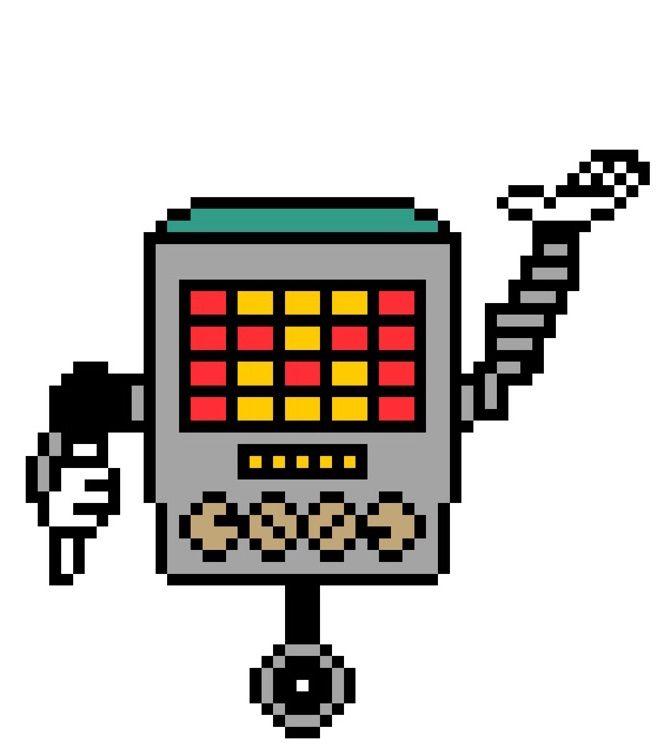 Mettaton pixel art | Undertale Amino