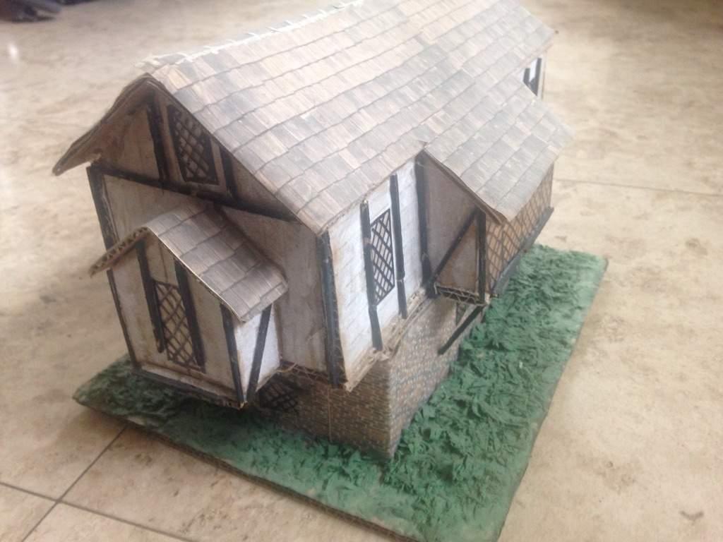Homemade Model Tudor House Maker Amino
