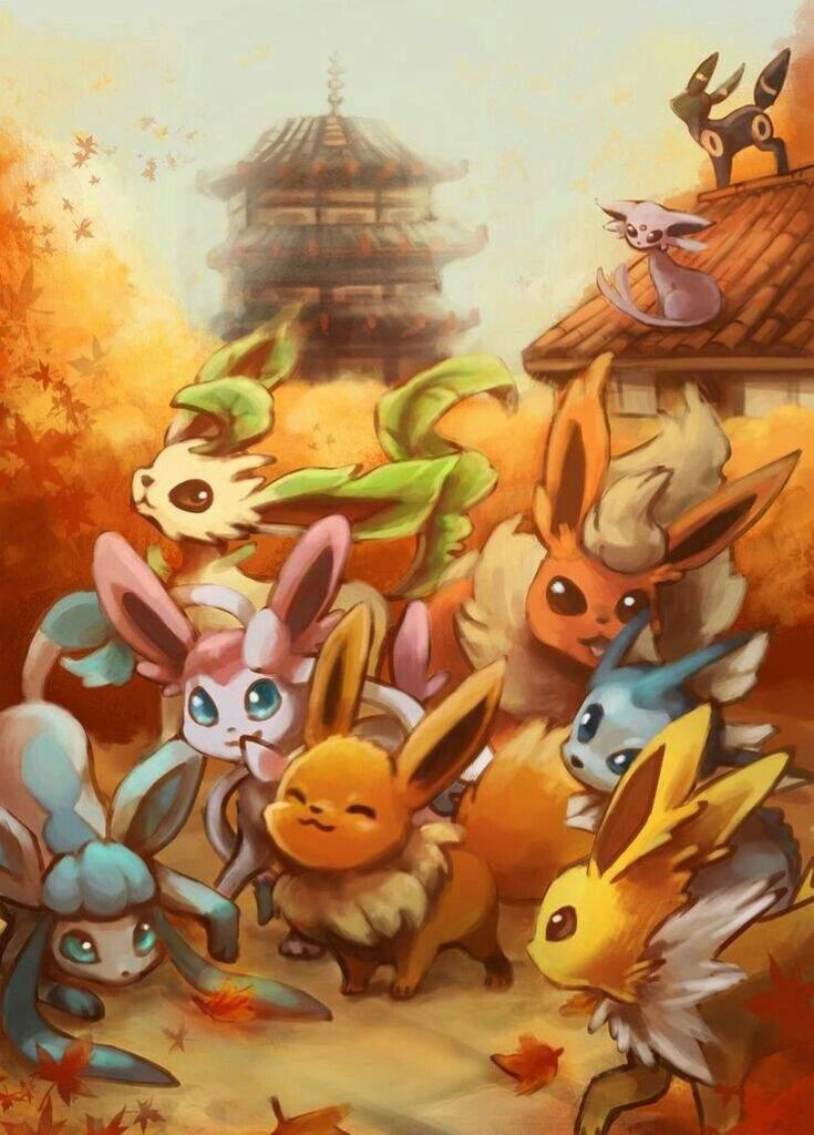 Wallpapers Eeveelutions 2   Pokémon
