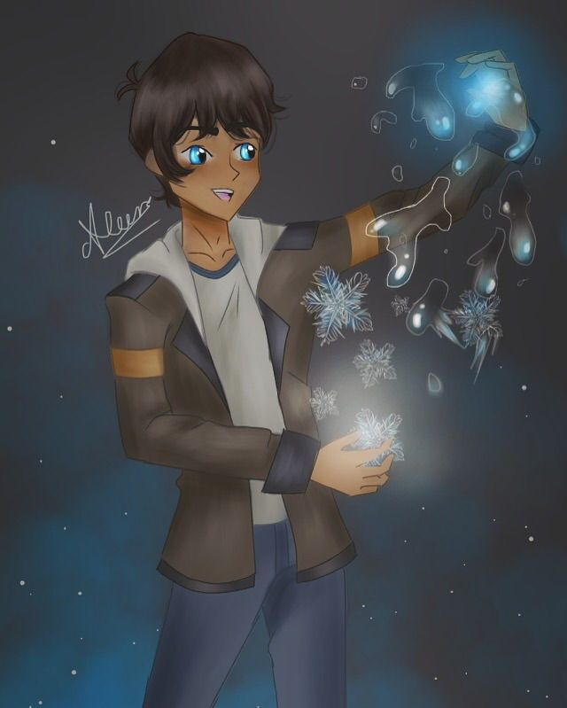Lance with water/ ice manipulation | Voltron Amino