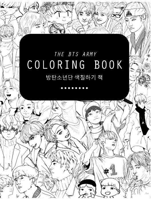 55+ Coloring Book Bts Pdf Free