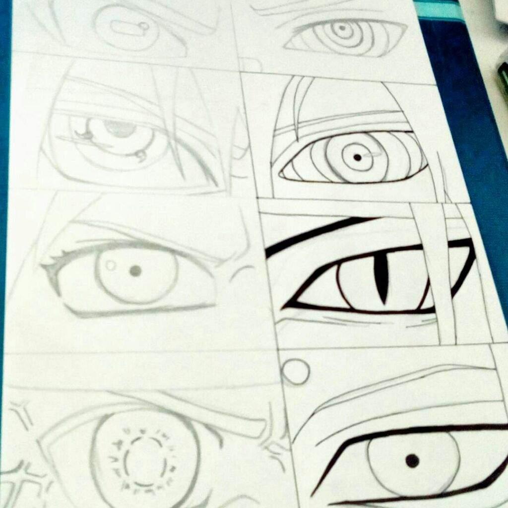 Sharingan Para Dibujar Facil Imagui
