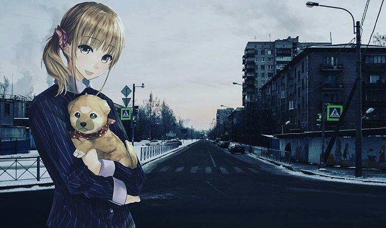 картинки аниме в реальном мире