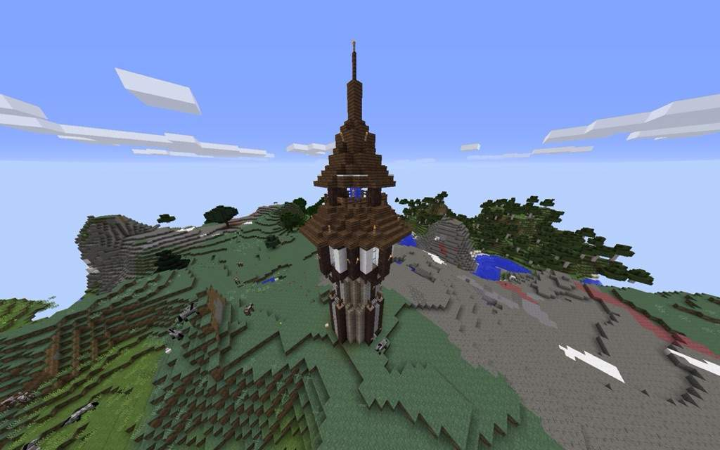 Medieval Tower Minecraft Amino