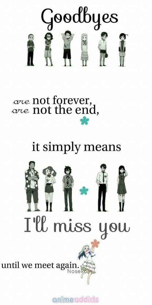 Anime Quote Anohana