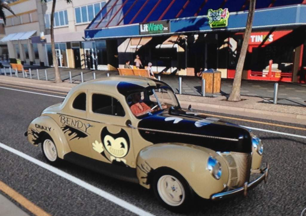 Bendy Car design i made 😅 | Bendy and the Ink Machine Amino