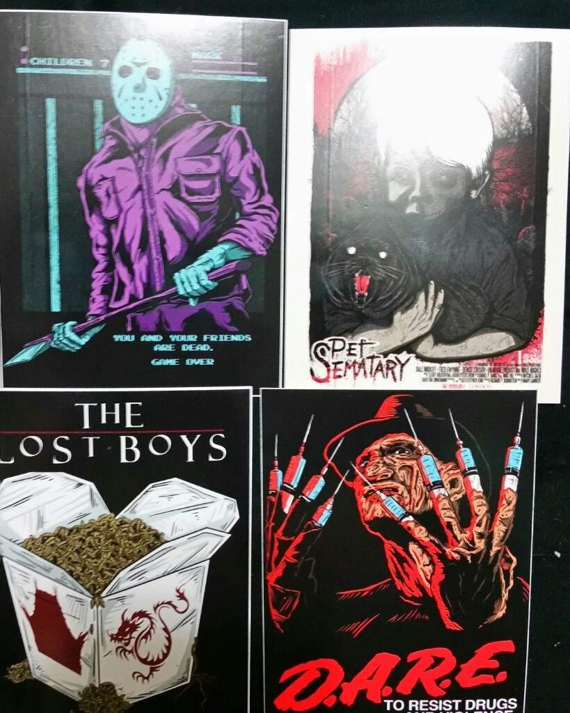 Horror stickers | Horror Amino