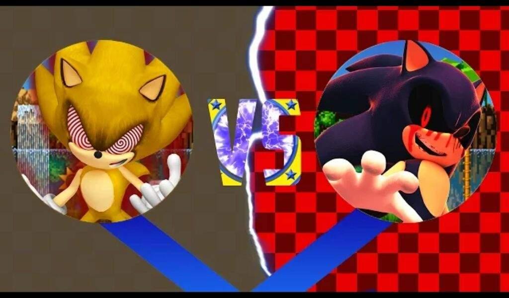 Fleetway vs sonic exe | Sonic the Hedgehog! Amino