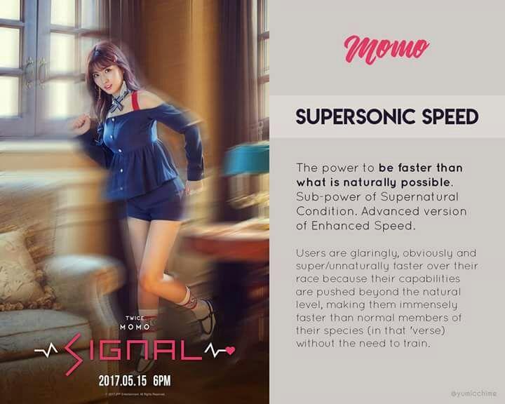 Twice Signal: SuperPowers and Description | Twice (트와이스