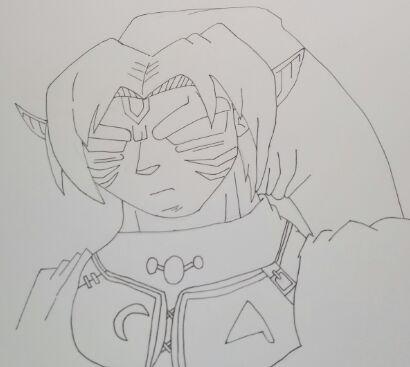Como dibujar a Link Fiera Deidad | Zelda Amino En Español Amino