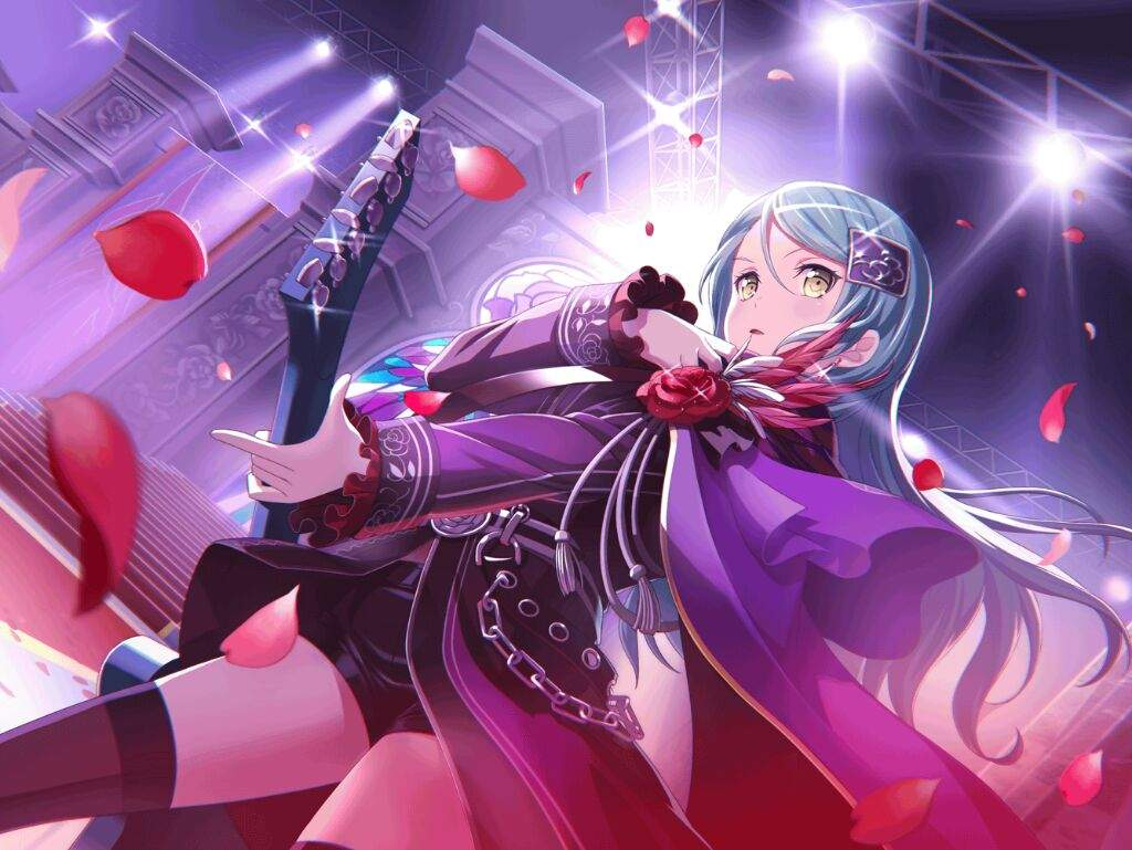 Sayo is the guitarist of Roselia with a strong determination. Sayo is mostly focused on one thing improving her own skill and being able to play together ... & Roselia | Wiki | Anime Amino
