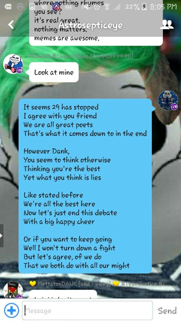 Group chat Poems | Undertale Amino