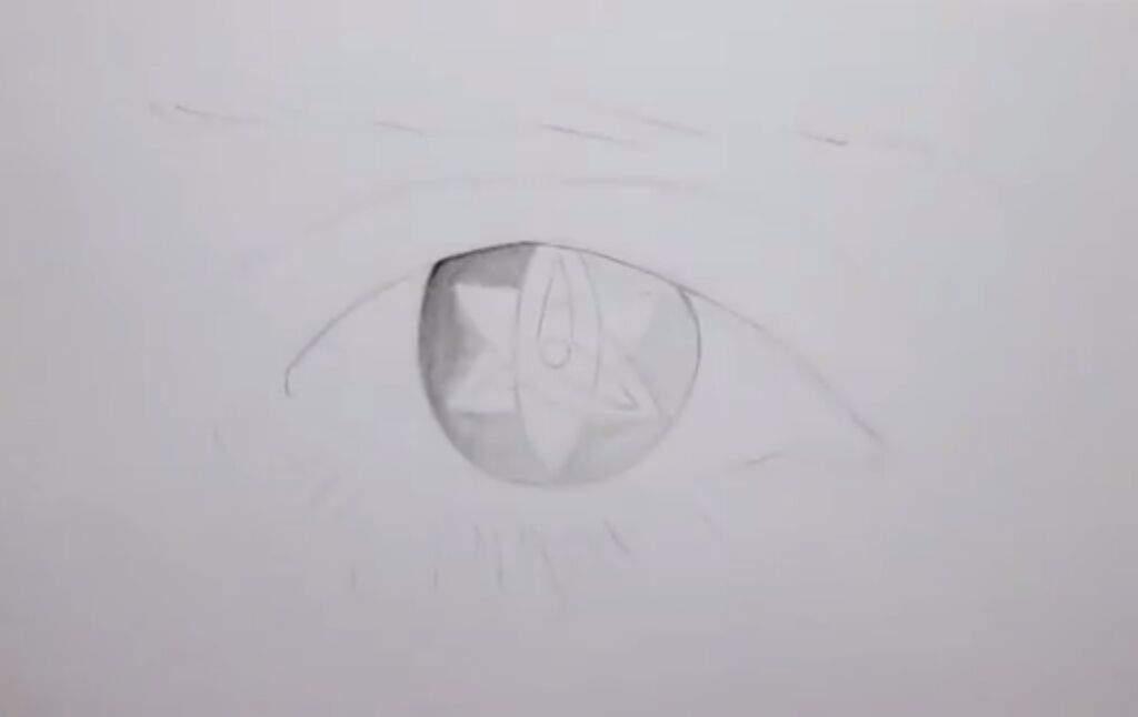 Estou Desenhando O Mangekyō Sharingan Eterno Do Sasuke Naruto