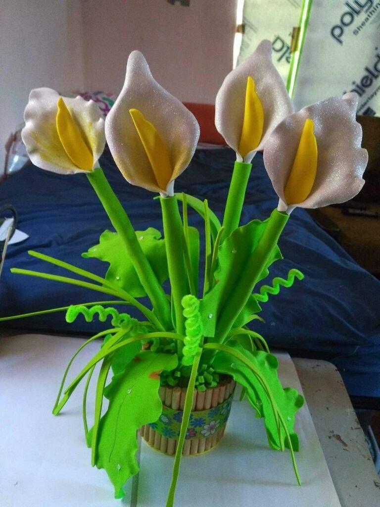 Regalo Para El Día De Las Madres Flor De Alcatraz