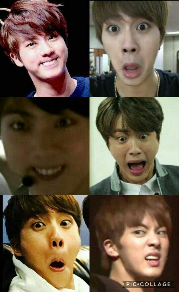 Jin Funny Face Army S Amino