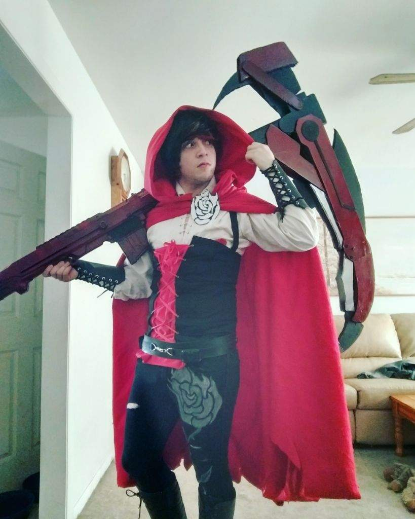 cosplay Ruby rose male