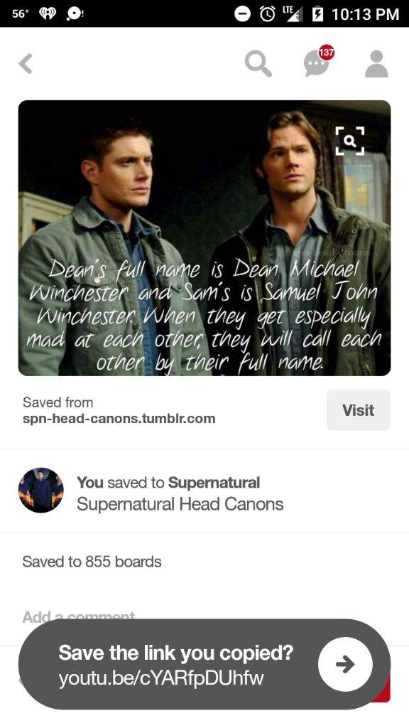 Fanfic continued  I will continue    Supernatural Amino