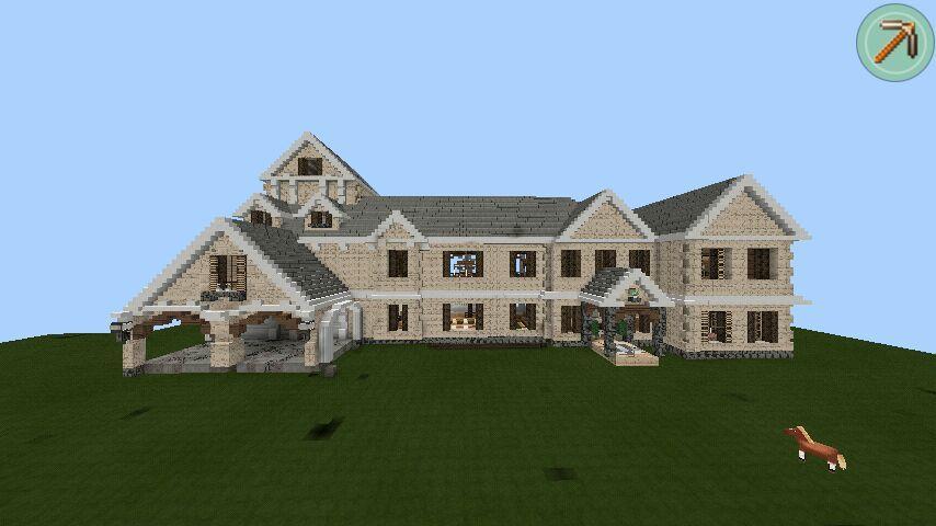 Minecraft Pe Joshvs Traditional Mansion Tour