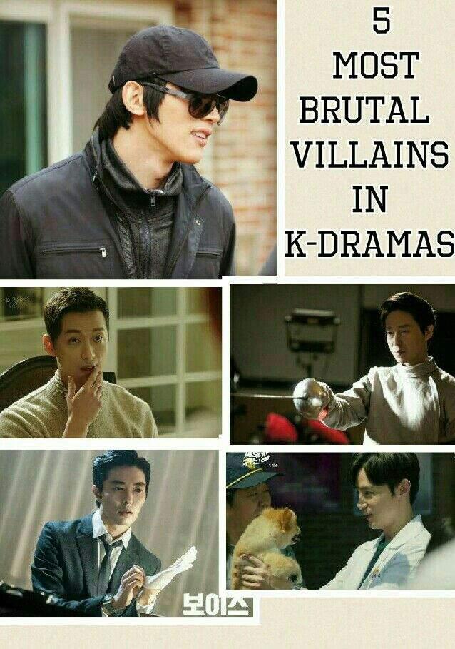5 MOST BRUTAL VILLAINS IN K-DRAMAS | K-Drama Amino
