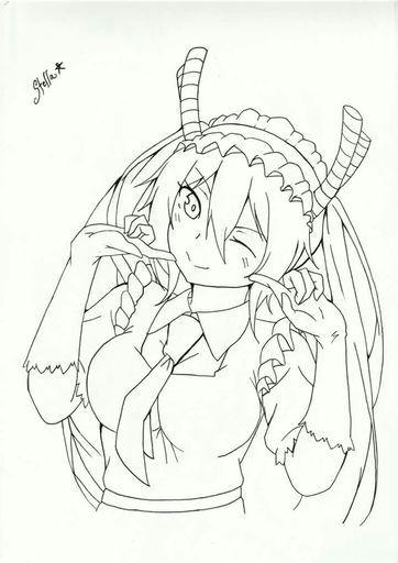 tohru coloring