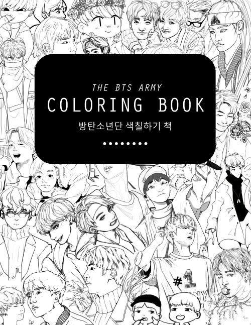 BTS coloring book! | BTS Oficial Amino Amino