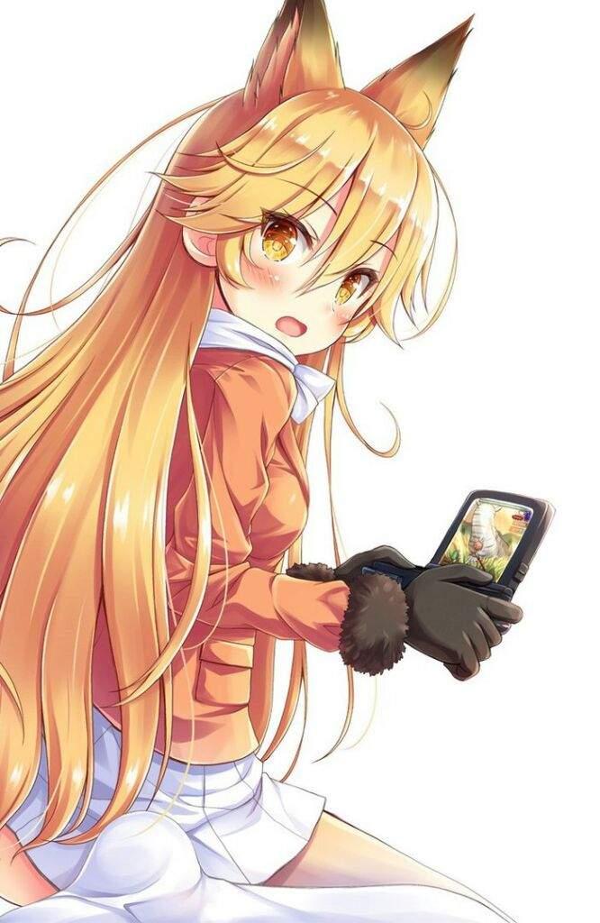 Девочка с хвостом картинка