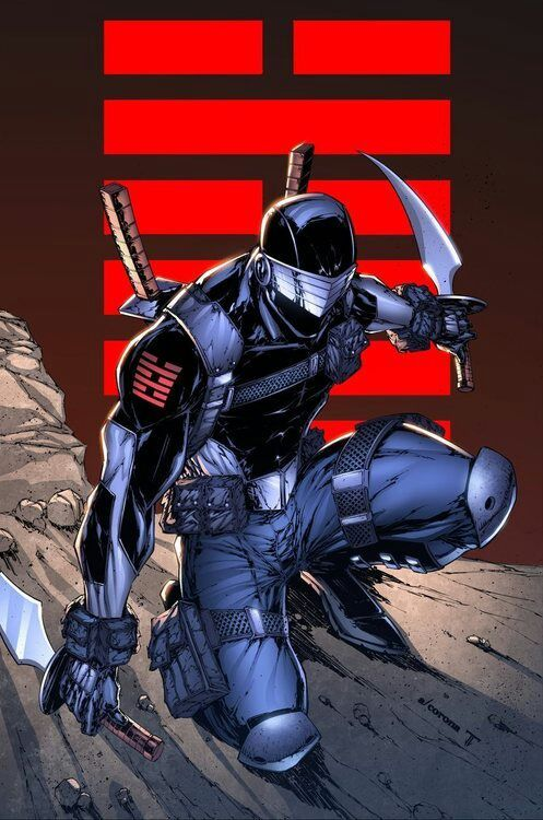 Snake Eyes The Appreciation Of The Silent Ninja Comics Amino