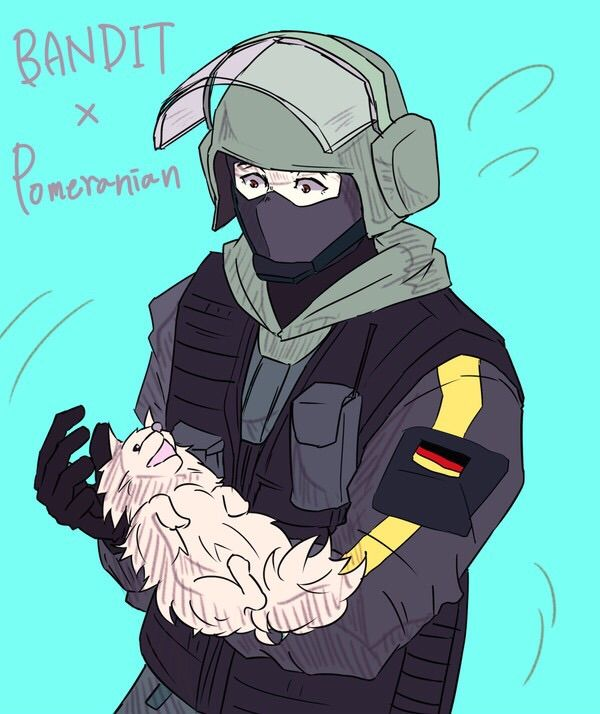 bandit fanart for the ones who asked rainbow six siege amino