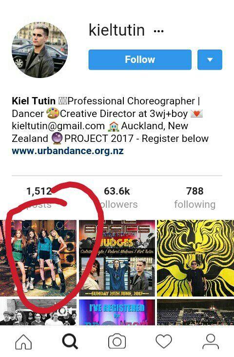 Kiel Tutin Mentioned Blackpink In His Instagram Account Blink