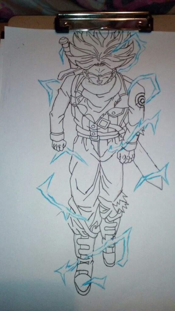 Trunks Ssj Rage Arte Amino Amino