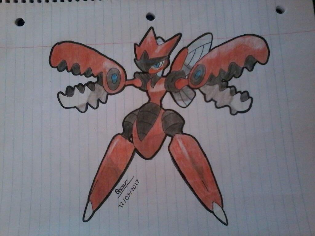 Mega Scizor Pokémon En Español Amino