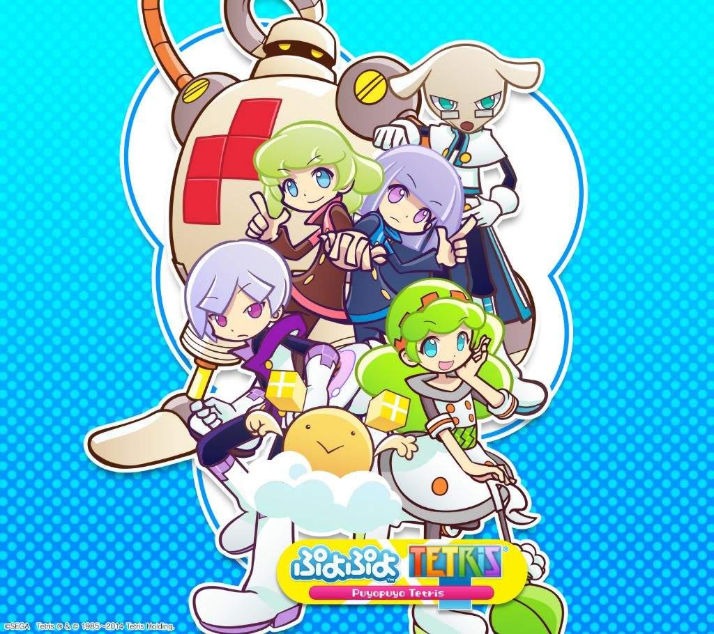 Puyo Tetris Review Nintendo Switch Amino Game Background