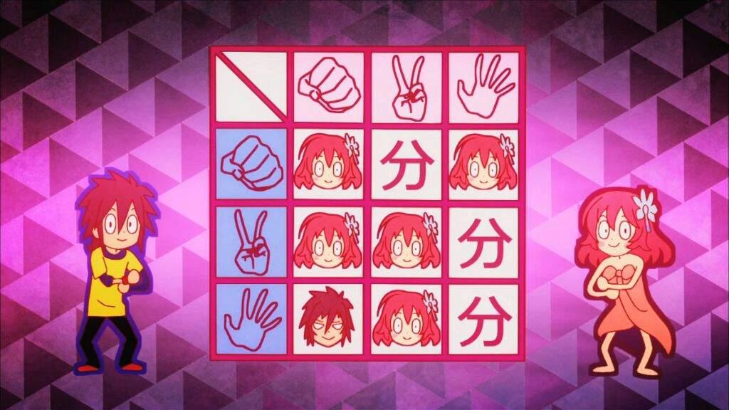 Soras Rock Paper Scissors Trick No Game No Life Amino
