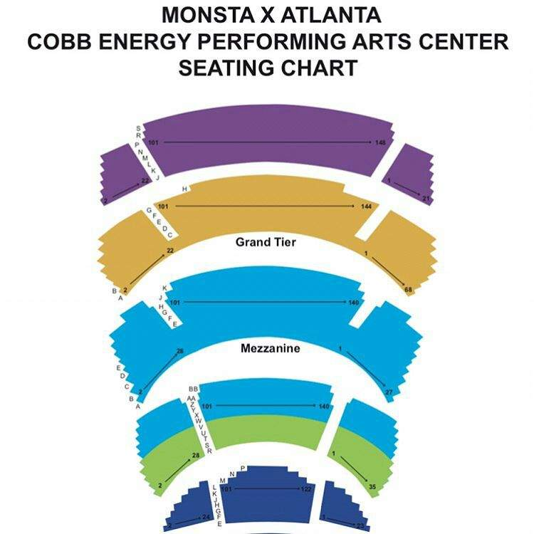 Cobb Energy Center Seating Chart Ace Energy