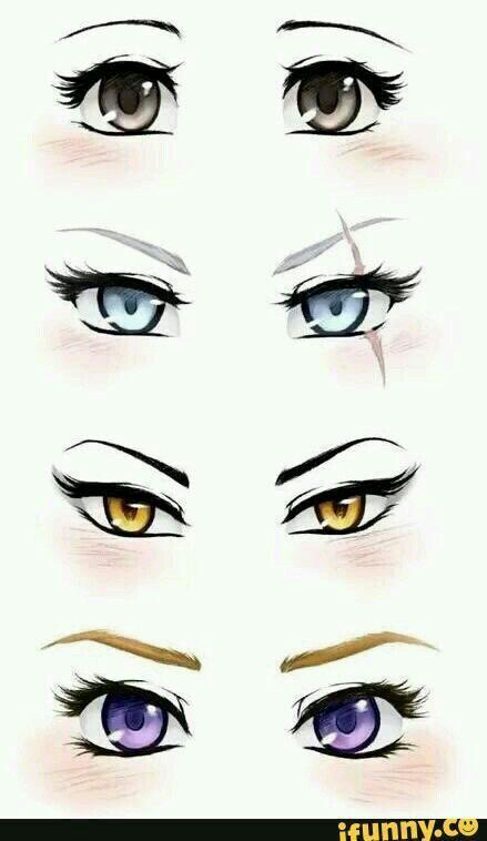 تعلم رسم عيون الانمي امبراطورية الأنمي Amino