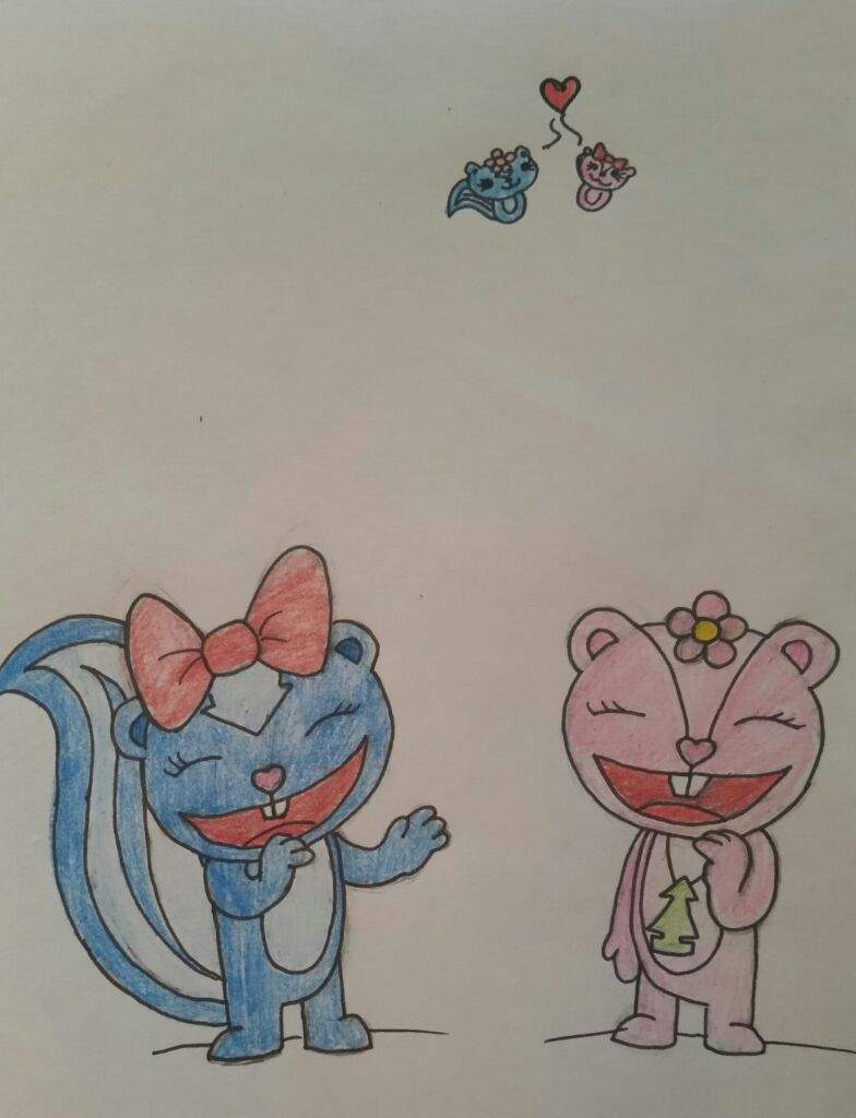 Happy Tree Friends Petunia And Giggles