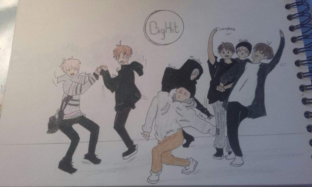 BTS War of Harmone dance practice fanart   ARMY's Amino