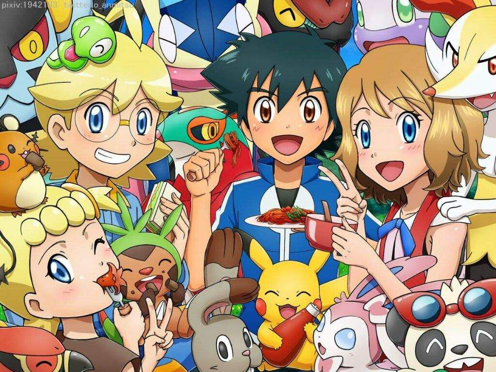 Lo Que Nos Has Ensenado Pokemon Xy Xyz Serena Amino Amino