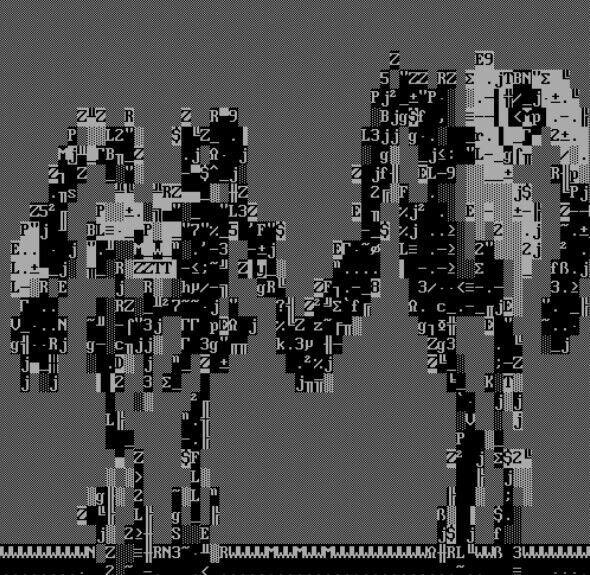 Portal ARG Update (March, 2010) - ASCII Images | Video Games