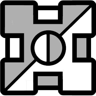 you need 95 secret coins for this icons which is perfectly reasonable this icon is one of the most futuristic looking icons on geometry dash - Geometry Dash Icon Coloring Pages