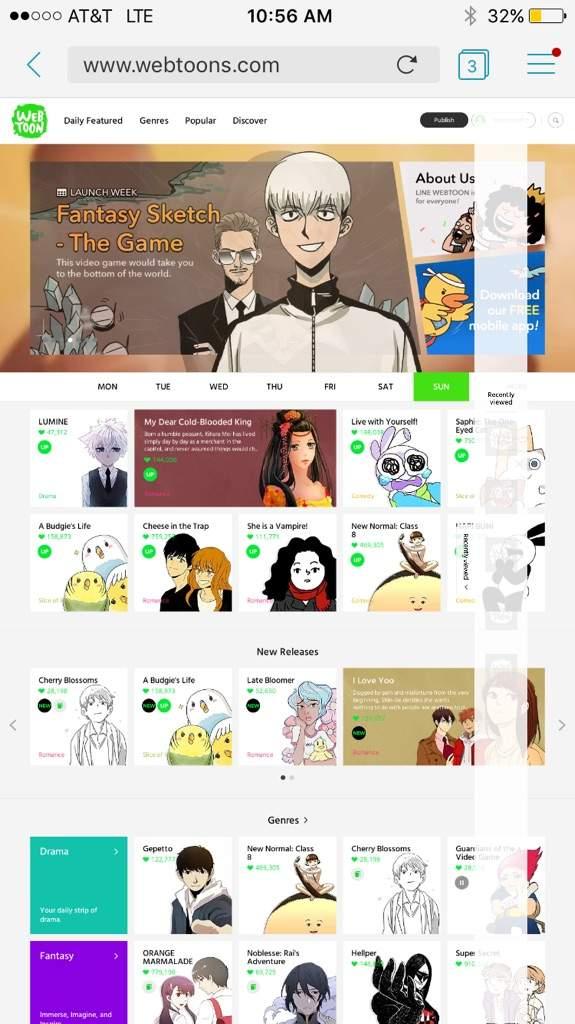 How to make a comic on webtoon ( mobile device) | Webtoons