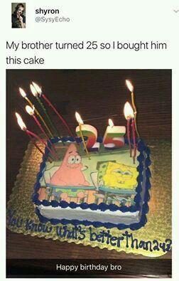 Awe Inspiring Best Birthday Cake Ever Dank Memes Amino Funny Birthday Cards Online Fluifree Goldxyz