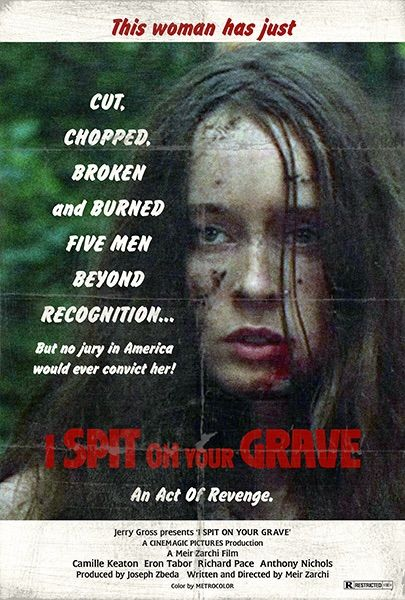 Image result for i spit on your grave 1978