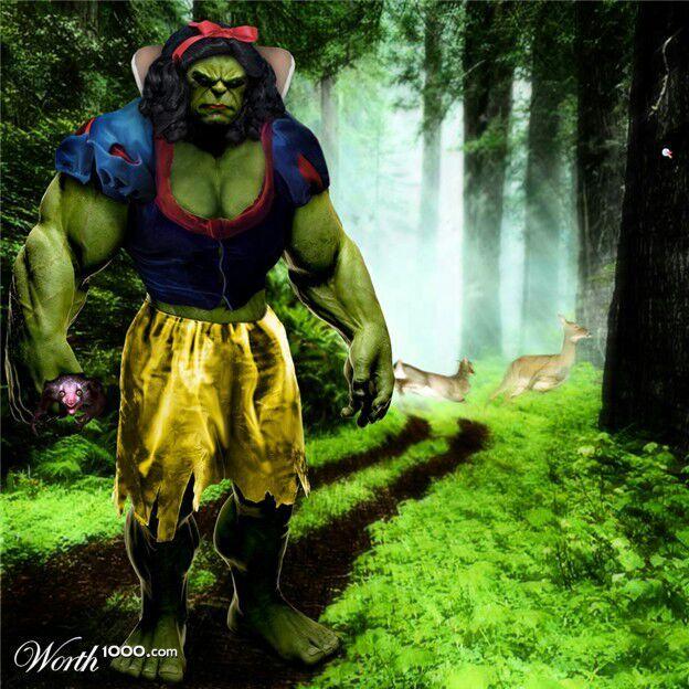 Resultado de imagem para pateta hulk