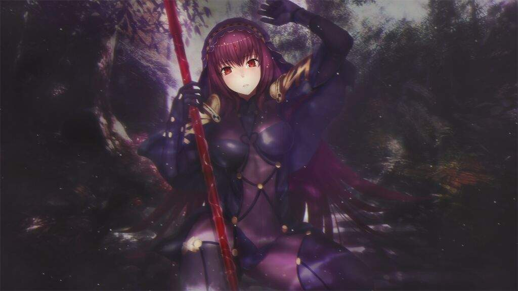 Wallpaper Dump Of The Queen And Gatekeeper Of The Land Of Shadows Scathach Fate Stay Night Amino